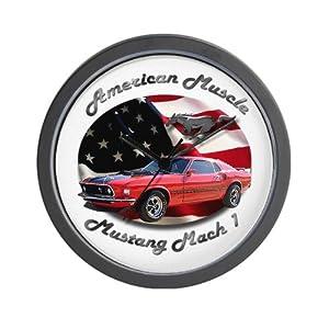 Ford Mustang Mach 1 Wall Clock