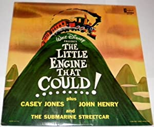 Walt Disney Presents The Little Engine That Could Plus Casey Jones John Henry And The