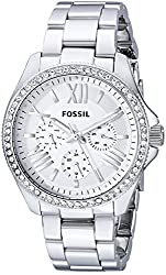 Fossil End-of-season Analog Multi-Color Dial Womens Watch - AM4481