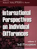 img - for Self Perception (International Perspectives on Individual Differences) book / textbook / text book