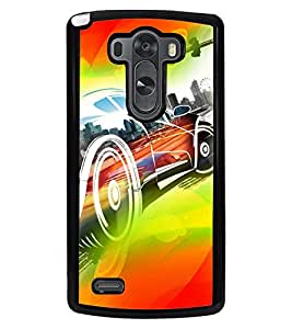 PrintVisa Plastic Multicolor Back Cover For LG G3 D855