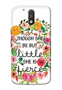 Moto G4 Plus Cover, Premium Quality Designer Printed 3D Lightweight Slim Matte Finish Hard Case Back Cover for Moto G4 Plus + Free Mobile Viewing Stand