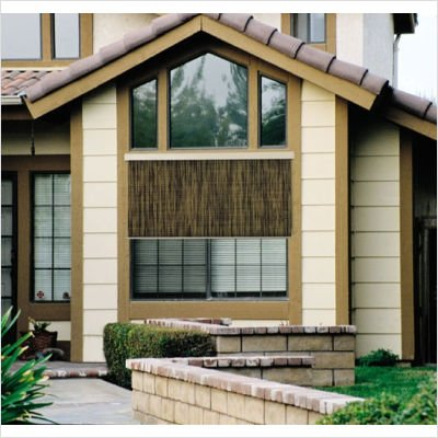Coolaroo designer sun shades coolaroo designer 10 x 20 - Coolaroo exterior retractable window shades ...