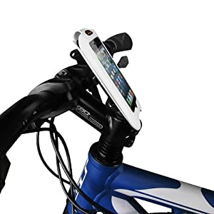 Ibera Bicycle iPhone Case with Stem Mount, 4.3-Inch, White