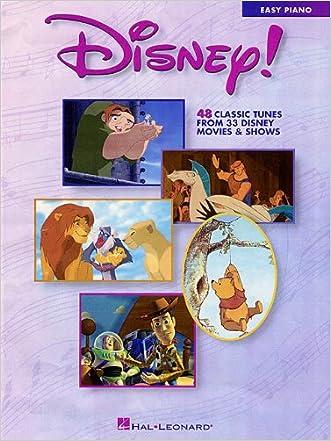 Disney! (Walt Disney Easy Piano Solos)