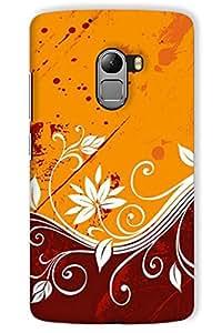 IndiaRangDe Hard Back Cover FOR Lenovo Vibe K4 Note