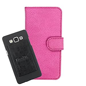DooDa PU Leather Wallet Flip Case Cover With Card & ID Slots For Intex Cloud 4G Star - Back Cover Not Included Peel And Paste