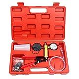 8MILELAKE Brake Fluid Bleeder Hand Held Vacuum Pistol Pump Tester Kit