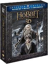 Lo Hobbit - La Battaglia Delle Cinque Armate (3D) (Extended Edition) (2 Blu-Ray 3D+3 Blu-Ray)