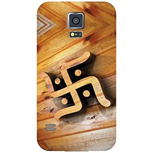 Samsung Galaxy S5 - Sign & Symbol Matte Finish Phone Cover