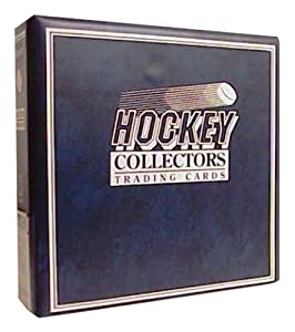 Ultra Pro 3-Ring (D-Ring Binder) Blue Hockey Card Album