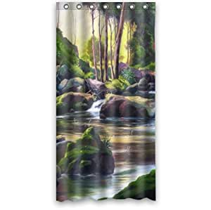 Amazon Custom It nature scenery Design stall mildew