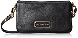 Marc by Marc Jacobs Too Hot To Handle Flap Percy Cross Body, Black, One Size