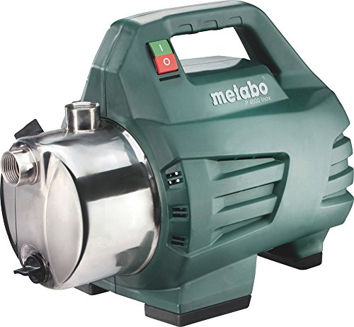Metabo Gartenpumpe P4500 Inox, Fördermenge 4.500 L/H