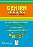 Image de Gehirnjogging für Erwachsene: 400 Seiten Training für die grauen Zellen - Alles in Farbe