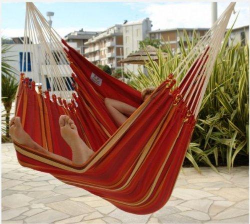 Lola XXXL Hängesessel Brasil TITAN Feuer Chilli 140 cm online kaufen