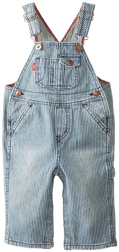 Levi's Baby-Boys Infant Overall W Snappy Tape,