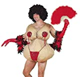 Tassle Twirling Tessie Adult Costume Picture
