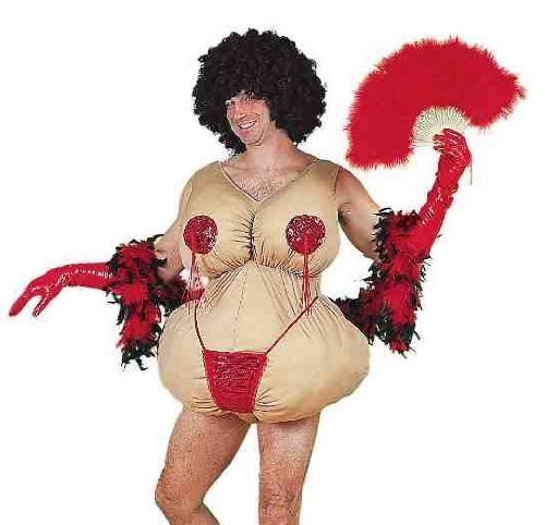 Tassle Twirling Tessie Jumbo Dancer Adult Costume Size Standard