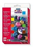 Toy - Staedtler 8023 01 Fimo soft Materialpackung, 10 Halbbl�cke � 25g, farblich sortiert