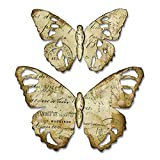 Sizzix 664166 Tattered Butterfly Dies, One Size (Color: Tattered Butterfly, Tamaño: One Size)