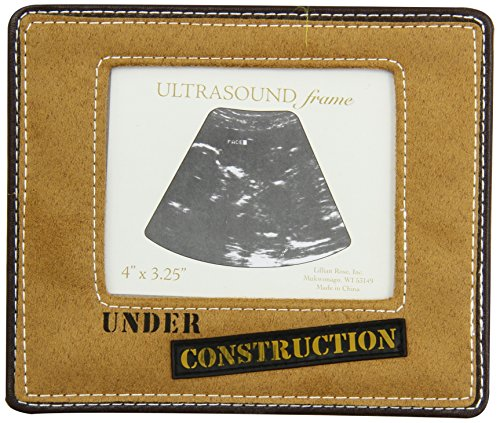 "Lillian Rose Ultrasound Baby Frame, Under Construction, 4"" x 3.25"""