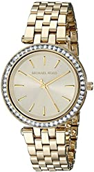 Michael Kors Women's Darci Gold-Tone Bracelet Watch MK3365