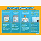 Business Ownership Wall Chart/Poster in durable laminated paper (A1 840mm x 584mm)