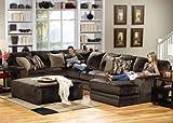Jackson Everest 3-PC Sectional Living Room Set Option A