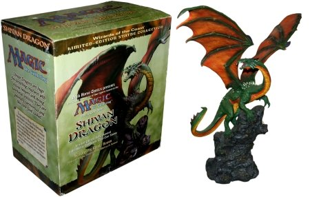 Magic the Gathering Shivan Dragon Resin Statue