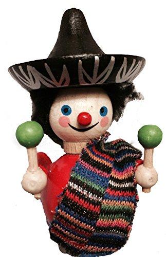 Steinbach Handmade German Wooden Ornament  Mexican Boy