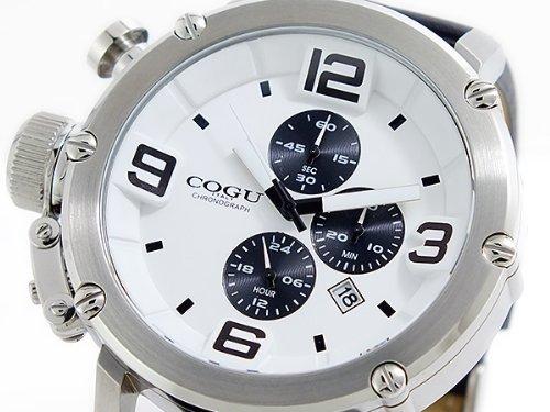 [コグ]COGU クオーツ クロノ メンズ 腕時計 C61-WH [並行輸入品]