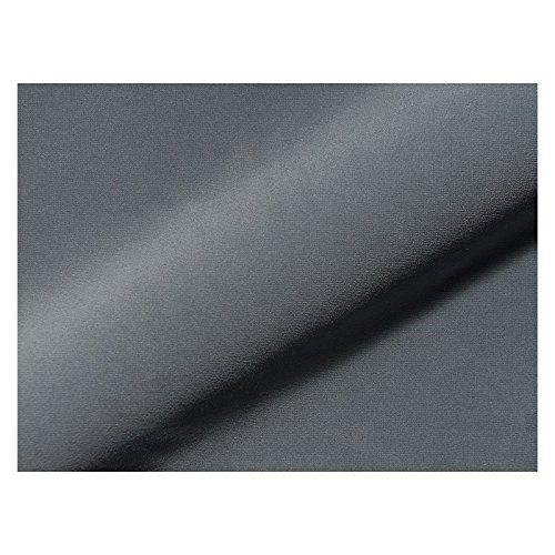 Stoffe - Polsterstoffe - Möbelstoffe - Meterware - Sitzbezug - Optima CS - Trevira CS - Uni - Grau - MUSTER