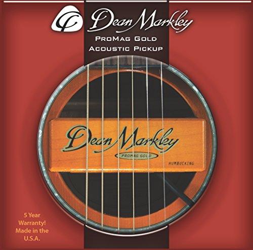 Dean Markley 3018 ProMag Grand Gold Acoustic Guitar Pickup