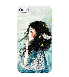 EPICCASE I'm waiting Mobile Back Case Cover For Apple iPhone 4/4s (Designer Case)