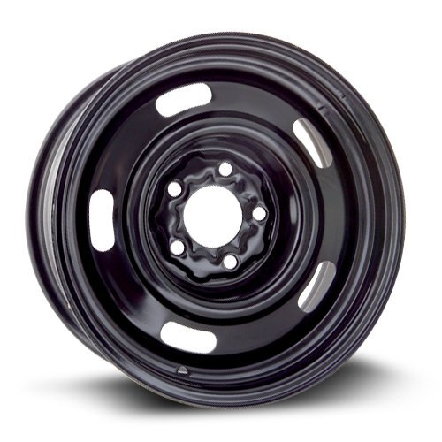 Steel Rim 15X6, 5X114.3, 70.6, +7, black finish (MULTI APPLICATION FITMENT) X40709 (97 Ford Ranger 15 Inch Rims compare prices)