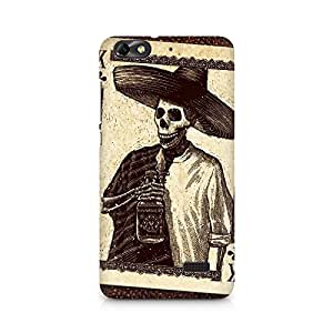 Mobicture Skull Abstract Premium Printed Case For Huawei Honor 4C