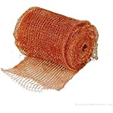 Stuf-fit Copper Mesh For Mouse Rat Rodent Control as well as Bat Snell Control 30 Foot Roll