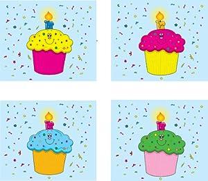 Carson Dellosa - Cubre Calendario - Calendar Cover-Ups - Birthday - (Cd-5420)