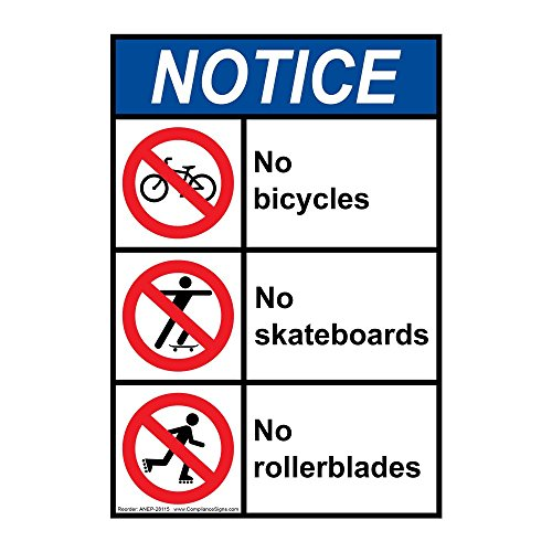 Biking signs