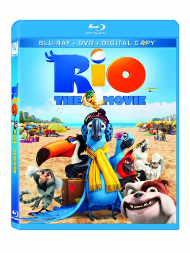 Cover art for  Rio (Blu-ray/ DVD Combo + Digital Copy)