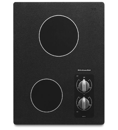 KitchenAid KECC056RBL 15 Electric Cooktop - Black