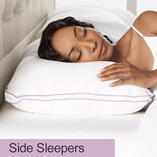 Lowest Prices! BioSense Memory Foam Shoulder Pillow with Better Than Down Cover