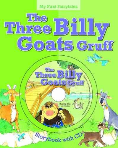 My First Fairytales Book and CD: The Three Billy Goats Gruff (My First Fairytales Book & CD)