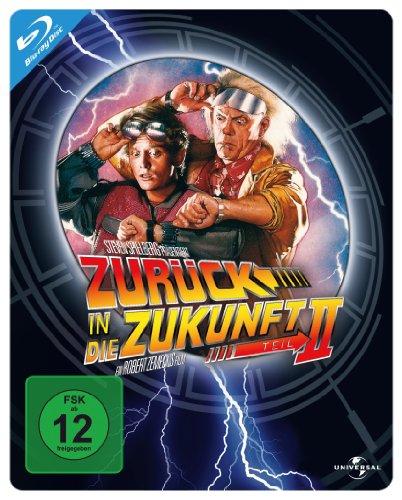 Zurück in die Zukunft 2 - Steelbook [Blu-ray]