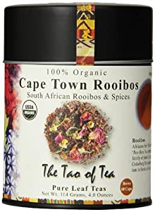 The Tao of Tea, Cape Town Rooibos Tea, Loose Leaf, 4 Ounce Tin by The Tao of Tea