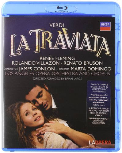 La traviata( Villazon / Fleming) - Giuseppe Verdi -  Blu Ray