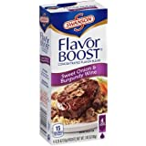 Flavor Boost By Swanson - Sweet Onion and Burgundy Wine - (1) Box of 4-.35 Oz. Flavor Packets