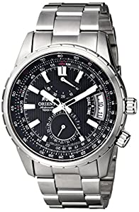 Orient Men's FDH01002B0 Voyager Analog Display Japanese Automatic Silver Watch