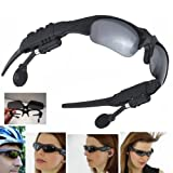 Wireless Bluetooth Sunglasses Headset Headphones For iPhone Samsung HTC Nokia